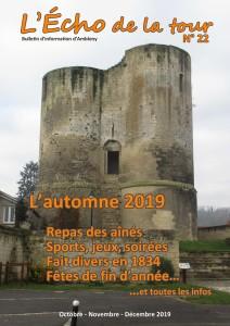 Couv L'Echo de la tour n° 22